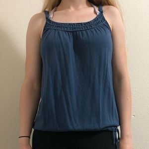 Blue American Eagle Tank Top